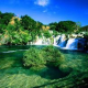 NATIONAL PARK KRKA AND TOWN ŠIBENIK -IN KINGDOM OF GREENERY