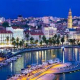 TOWNS TROGIR AND SPLIT